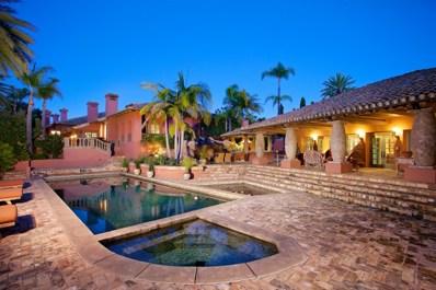 17116 Paseo Hermosa, Rancho Santa Fe, CA 92067 - MLS#: 180002272