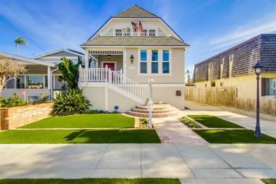 827 A Avenue, Coronado, CA 92118 - MLS#: 180002699