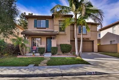 1428 Ashford Castle Dr, Chula Vista, CA 91915 - MLS#: 180003044