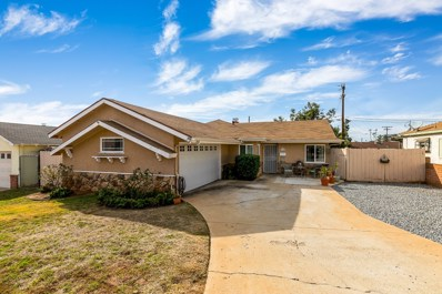 1284 Navello St, El Cajon, CA 92021 - MLS#: 180003311