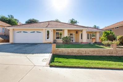 1329 Hinrichs Way, Escondido, CA 92027 - MLS#: 180003352