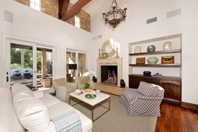 18548 Corte Fresco, Rancho Santa Fe, CA 92091 - MLS#: 180003542