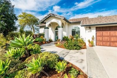 2457 San Clemente Way, Vista, CA 92084 - MLS#: 180003615