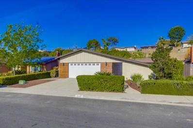6926 Monte Verde Drive, San Diego, CA 92119 - MLS#: 180004789