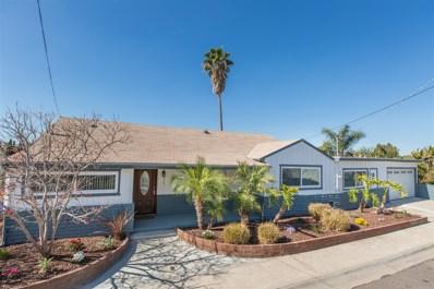 4744 Baylor Dr, San Diego, CA 92115 - MLS#: 180005107