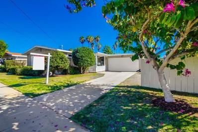 5111 Gaylord Drive, San Diego, CA 92117 - MLS#: 180005626