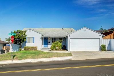 5572 Churchward Street, San Diego, CA 92114 - MLS#: 180005825