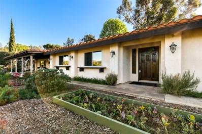 1415 Flora Vista, Escondido, CA 92027 - MLS#: 180005868
