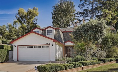 3404 Tony Drive, San Diego, CA 92122 - MLS#: 180005916