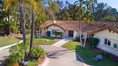 16779 Avenida Arroyo Pasajero, Rancho Santa Fe, CA 92067 - MLS#: 180007001