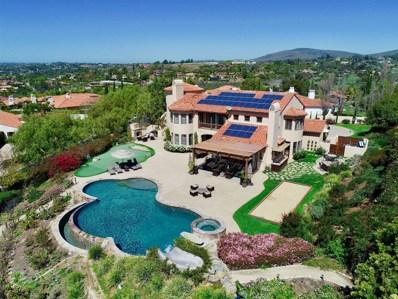 6188 Avenida Del Duque, Rancho Santa Fe, CA 92067 - MLS#: 180007548