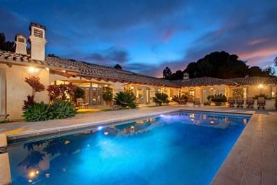 6107 Calle Camposeco, Rancho Santa Fe, CA 92067 - MLS#: 180007874