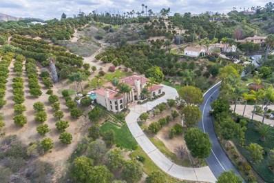 18135 Querida Sol, Rancho Santa Fe, CA 92067 - MLS#: 180008095