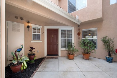 5005 Golondrina Way UNIT 67, Oceanside, CA 92057 - MLS#: 180008305