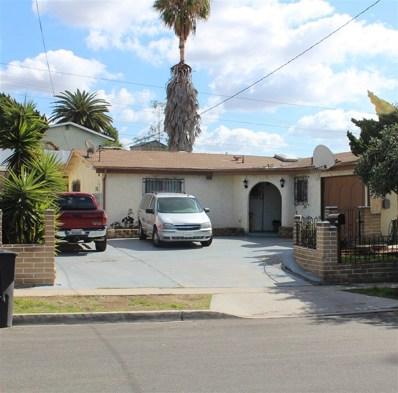 1449 Eckman Ave, Chula Vista, CA 91911 - MLS#: 180008385