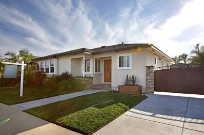 5517 Elgin Avenue, San Diego, CA 92120 - MLS#: 180008434