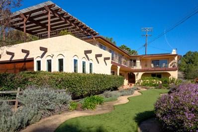 3430 Vista De La Cresta, Escondido, CA 92029 - MLS#: 180008630