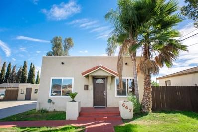 647 Claydelle Ave, El Cajon, CA 92020 - MLS#: 180008646