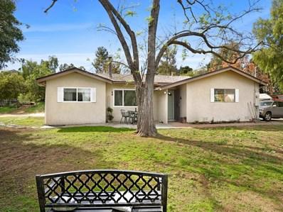 2521 San Vicente Rd, Ramona, CA 92065 - MLS#: 180008837