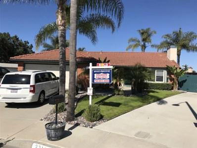2710 Candlewood Pl, Oceanside, CA 92056 - MLS#: 180008998