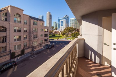 655 Columbia St UNIT 308, San Diego, CA 92101 - MLS#: 180009115
