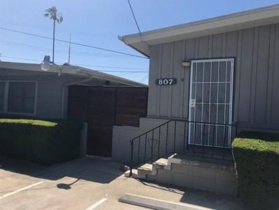 807 W Palm Ave., El Cajon, CA 92020 - MLS#: 180009288