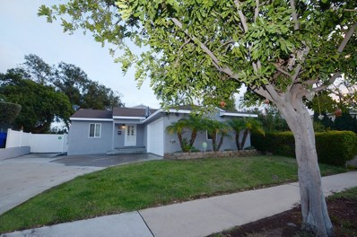 4877 Twain Ave, San Diego, CA 92120 - MLS#: 180009513