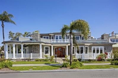 1330 Glorietta Blvd, Coronado, CA 92118 - MLS#: 180009567