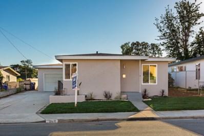 2430 Calle Quebrada, San Diego, CA 92139 - MLS#: 180009798