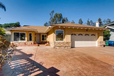 1710 Porterfield Pl, El Cajon, CA 92019 - MLS#: 180009861