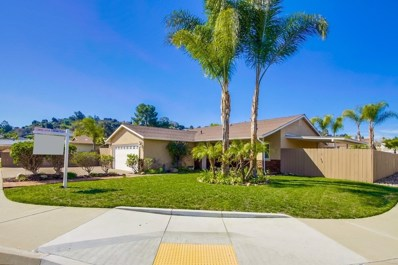 812 Terrace Crest, El Cajon, CA 92019 - MLS#: 180010649