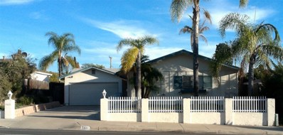 7027 Cowles Mountain Blvd, San Diego, CA 92119 - MLS#: 180010878