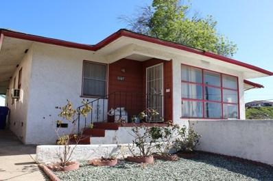 5587 San Onofre Ter, San Diego, CA 92114 - MLS#: 180011008