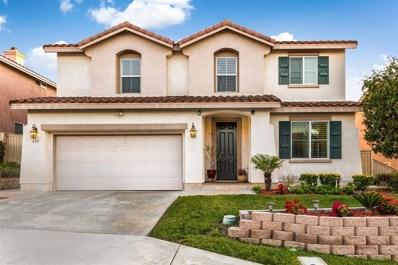 835 Avenida Abeja, San Marcos, CA 92069 - MLS#: 180011153