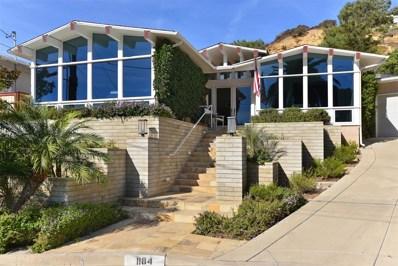 1184 Avenida Amantea, La Jolla, CA 92037 - MLS#: 180011364