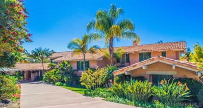 17287 Camino De Montecillo, Rancho Santa Fe, CA 92067 - MLS#: 180011483