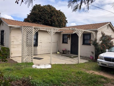 4031-4033 Gamma St, San Diego, CA 92113 - MLS#: 180011520