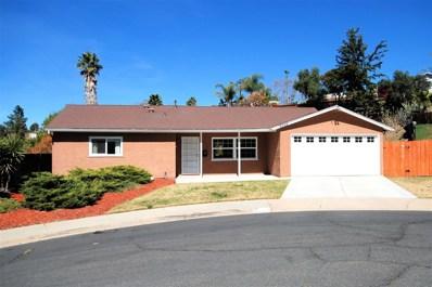 9755 Esparta Ct., Santee, CA 92071 - MLS#: 180012015