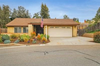 331 Camino Redondo, San Marcos, CA 92069 - MLS#: 180012249