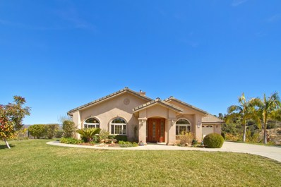 255 Patton Oak Rd, Fallbrook, CA 92028 - MLS#: 180012369