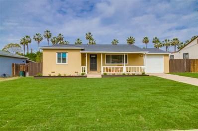 3528 Niblick Drive, La Mesa, CA 91941 - MLS#: 180012403