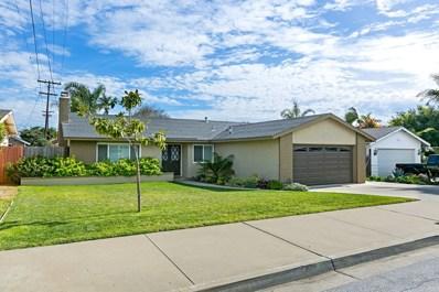 1531 Lucky St., Oceanside, CA 92054 - MLS#: 180012500