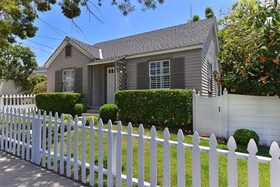 1121 Virginia Way, La Jolla, CA 92037 - MLS#: 180012847