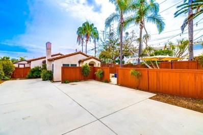2163 San Clemente, San Diego, CA 92107 - MLS#: 180013214