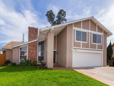 6388 Hannon Ct, San Diego, CA 92117 - MLS#: 180013442