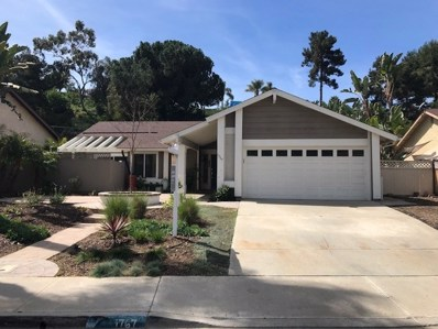 1767 Woodbine Pl, Oceanside, CA 92054 - MLS#: 180014057