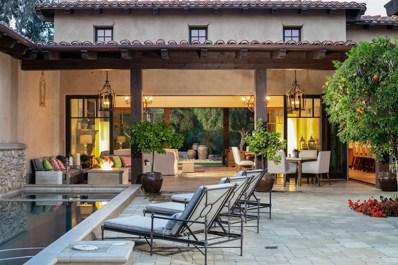 18512 Calle La Serra, Rancho Santa Fe, CA 92091 - MLS#: 180014241