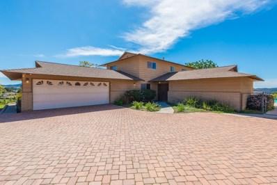 1490 Hidden Mesa Trail, El Cajon, CA 92019 - MLS#: 180014474
