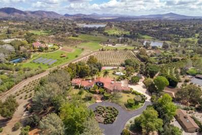 18163 Via De Fortuna, Rancho Santa Fe, CA 92067 - MLS#: 180014503