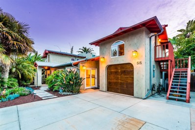 515 Seabright Ln, Solana Beach, CA 92075 - MLS#: 180014968